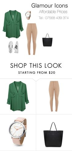 """Leasure chic!"" by glamourchic2 on Polyvore featuring adidas"