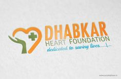 Logo Design for Heart Care Center by Purple Phase Communication. www.purplephase.in