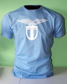 Lazio-Italy-Italia-Calcio-Football-Soccer-T-Shirt-Maglietta-UEFA-Europe