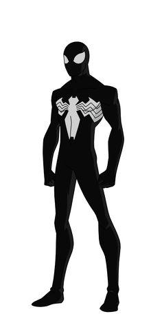 Spider-Man - Black Suite by SpiedyFan