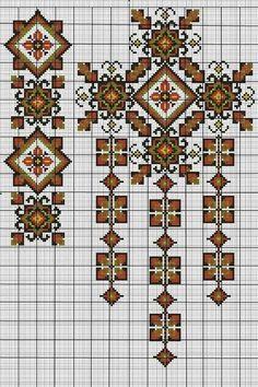 Ukraine, from Iryna Cross Stitch Borders, Cross Stitch Charts, Cross Stitch Patterns, Folk Embroidery, Cross Stitch Embroidery, Embroidery Patterns, Tatting Patterns Free, Palestinian Embroidery, Cross Stitch Pictures