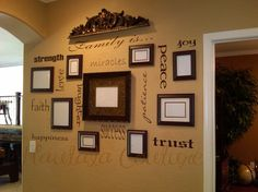 Family is wall collage