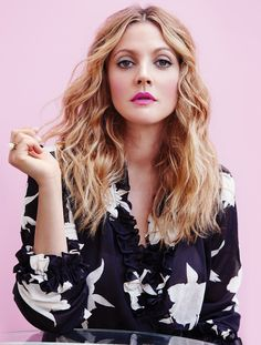 Drew Barrymore on becoming a beauty boss (and declining Botox)- HarpersBAZAARUK