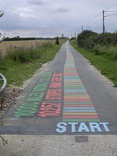 DNA cycle path Cambridge England