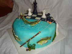 dort šachy a rybář