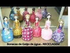 Bonecas de galão de àgua - Recicladas e decoradas com Pérolas - YouTube