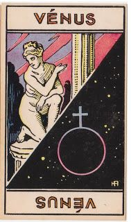 Cartas do Destino: Destino e Tarô: Tarot Astrologique - A Carta Vênus...