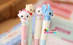 kawaii creative cartoon ballpoint pen cute writing pens for kids / korean school & office supplies cute stationery material-in Ballpoint Pens from Office & School Supplies on Aliexpress.com | Alibaba Group