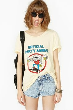Official Party Animal Tee