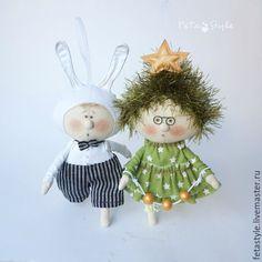 Купить Новая Елочка Кукла-подвеска Игрушка на Елку - елка в детском саду
