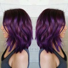 Plum hair <3