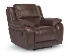 Flexsteel Furniture: Latitudes: BreakthroughLeather Recliner (1231-50)