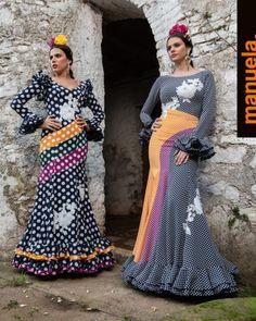 Colección 2019 Manuela Macías Moda Flamenca Online Fashion Boutique, Fashion Online, Women's Fashion, Dots, Templates, Outfits, Frases, Feminine Fashion, Pattern Drafting