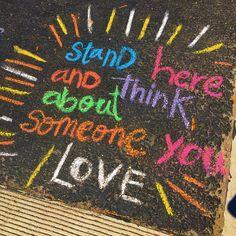 Kindness Sidewalk Chalk Chalk Art Chalk Chalk Art Sidewalk Kindness Sidewalk, We are sharing an Easy Sidewalk Chalk Art project that everyone can do. This Mosaic Sidewalk Chalk, New York Graffiti, Street Art Graffiti, Graffiti Artists, Drawing For Kids, Art For Kids, Easy Chalk Drawings, Chalk Art Quotes, Chalk Design, Vsco
