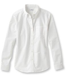 #LLBean: Easy-Care Washed Oxford Shirt, Relaxed Long-Sleeve