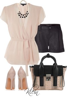 """""""Black Shorts"""" by stacy-klein on Polyvore"""