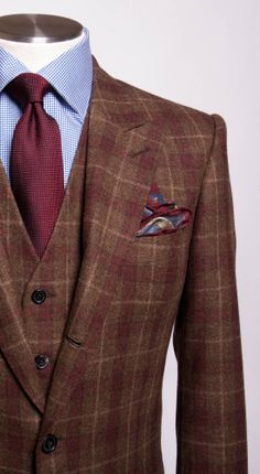 Three Piece Tweed Suit? Love it, but doesn't really come into play