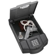 Paragon Safes Pistol & Handgun Safe - Sturdy Security Electronic Lock - Keep Your Firearms Safe with Paragon Lock & Safe by Paragon. $89.56. If you are considering a handgun safe, look no further.  We have the solution.  We are pleased to Introduce the Quarter Master 7650.  It was designed with the intent of being mobile.  Do you ever need to transfer your gun from one location to another?  The Quarter Master 7650 offers that flexiblity. The  offers 2 options to open, cod...