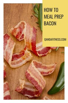 Breakfast is the most important meal of the day. But what if you just don't have enough time to prepare a healthy breakfast each morning? Check out this comprehensive guide to meal-prepping bacon - QandA Fitness - #fitness #MealPrep #HealthyEating