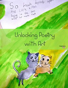 Help your kids understand poems by using art as the way into the poem -- plus, it's fun!