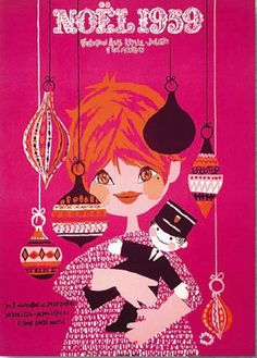 Poster of Openo Lefor Christmas, 1959.