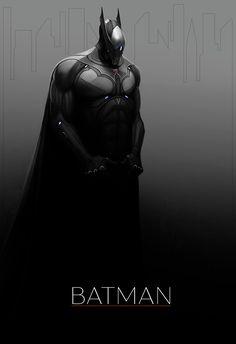 Batman by MrTomLong.deviantart.com on @deviantART