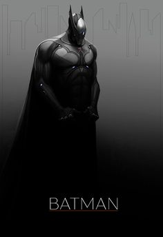 Batman by Tom Long. This would be a sweet alternate costume for a Batman Beyond inspired film