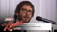 Josh Groban Sings Donald Trump Tweets...bringing some silly put to song.