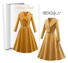 """""""Vintage Dress"""" by trendy21com on Polyvore featuring vintage"""