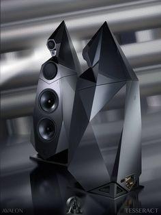 Avalon Tesseract loudspeakers