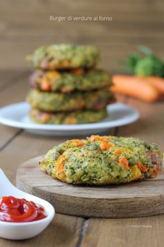 Italian Recipes, Vegan Recipes, Cooking Recipes, Healthy Snacks, Healthy Eating, Baked Vegetables, Mediterranean Recipes, Raw Vegan, Carne