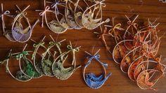 Dekoration - Klöppeln, Vogel, Anhänger, Motivanhänger... - ein Designerstück von Fummelchen-Beate bei DaWanda
