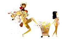 Shopping Day by PascalCampion.deviantart.com on @DeviantArt