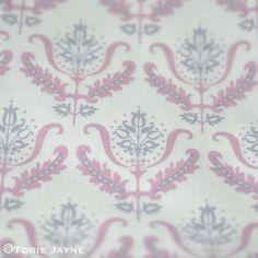 Flower Ornament in white:mauve:pastel violet 1 Flower Ornaments, Damask, Mauve, Pastel, Rose, Flowers, Fabric, Facebook, Garden