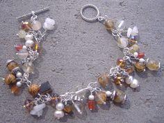 Woodland Charm Bracelet by CinnamonLotus on Etsy, $22.00