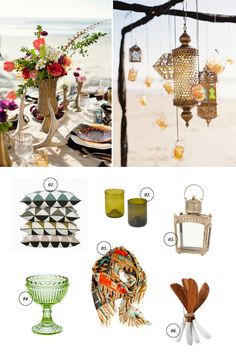 Parties to Pretties – Dinner in the Sand - so beautiful!