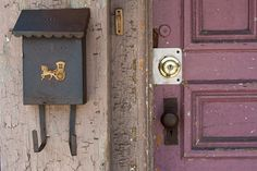 Whimsical photography print rustic door by JemPhotographyStore