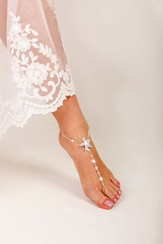 3046fd9dd4b8ee Starfish Beach Sandals. Beach Wedding ...