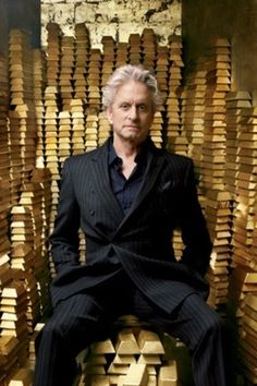 """Michael Douglas putting the power in """"power suit"""""""