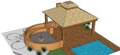 Create a Landscape Fire pit Design Garden Design Plans, Fire Pit Designs, Fire Pits, Landscape Design, New Homes, House Ideas, Entertainment, Cabin, Create