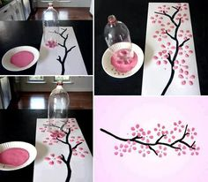 Super simple spring art project!