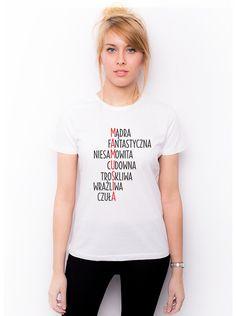 T-shirt z nadrukiem - Mamusia w Allbag-Allprints na DaWanda.com