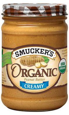 Smucker's  Organic Creamy Peanut Butter, 16-Ounce (Pack of 4) - http://goodvibeorganics.com/smuckers-organic-creamy-peanut-butter-16-ounce-pack-of-4/