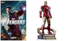 Robert Downey Jr. as Iron Man Mark VI The Avengers Movie Collectible Figure