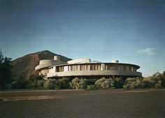 David & Gladys Wright Residence. 1950. Phoenix Arizona. Usonian. Frank Lloyd Wright