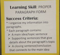 success criteria persuasive writing english language arts top  what is a thesis in an essay success essay writing