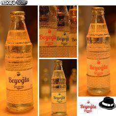 """""""Beyoğlu Gazozu"""" Beyoğlu'nda, Fedora Bistro'da içilir... Sıcak havaya iyi gelir, serinletir..."""