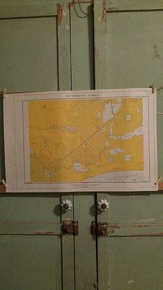 "For sale at Retrophoria.com, $25.00 - Vintage 1960's  paper map of East Texas 22"" x 14 1/2"""