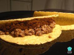 Tacos mexicanos original - COM FOTOS PASSO A PASSO! Tacos Mexicanos, Burritos, Mexican Food Recipes, Ethnic Recipes, Pot Pie, Tex Mex, Creative Food, Nachos, Enchiladas