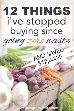 Twelve things Ive stopped buying since going zero waste and how Ive saved 12000 over the last two and a half years from Green Life, Go Green, Limpieza Natural, No Waste, Reduce Waste, Waste Reduction, Reduce Reuse Recycle, Ways To Recycle, Natural Living